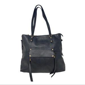 Kooba Everett Pebbled Leather Studded Tote bag